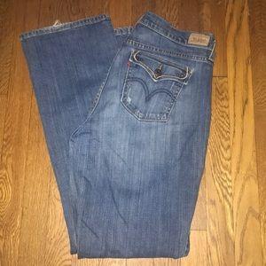 Levi's 515 boot cut 12 long jeans